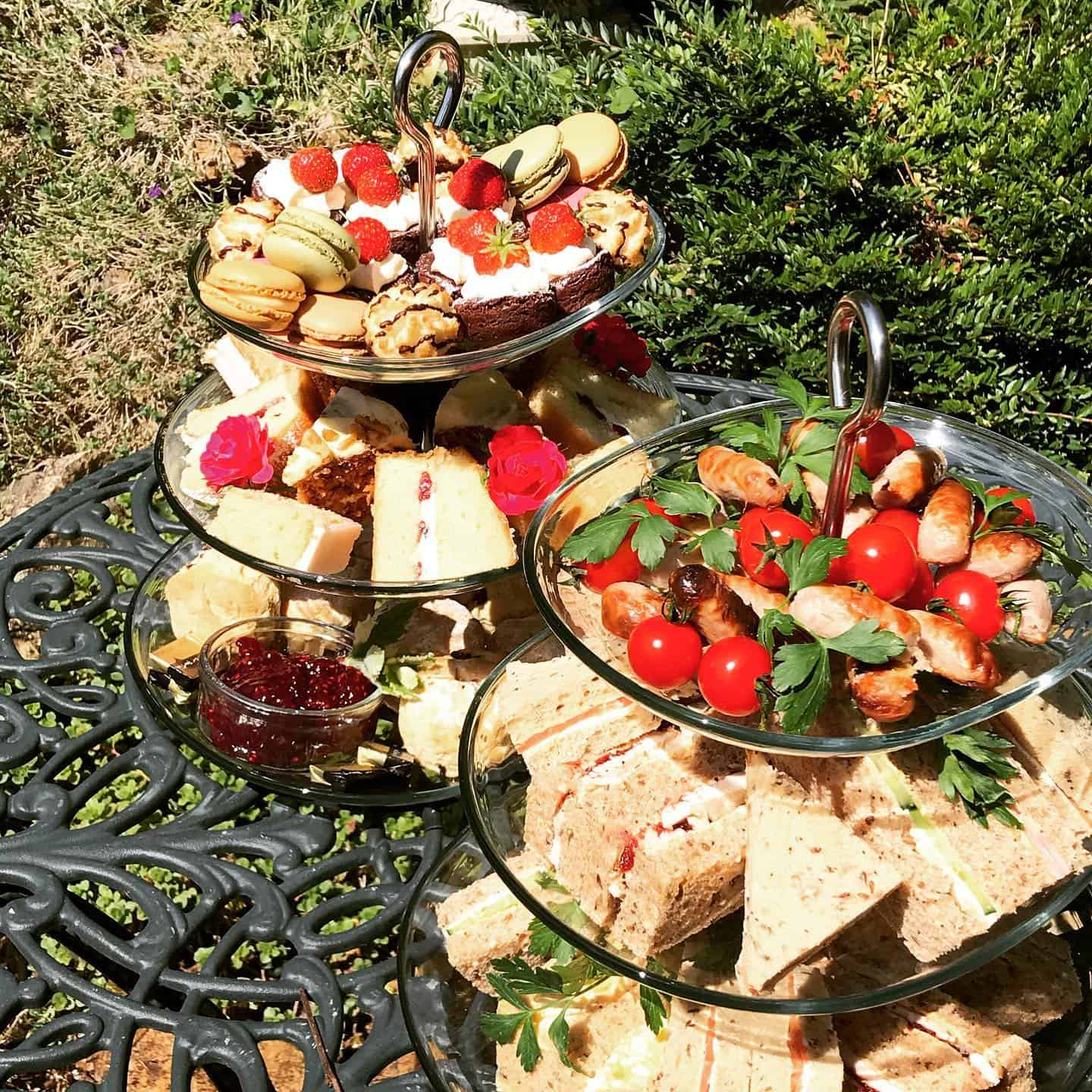 Afternoon Tea delivery by Foxes Catering